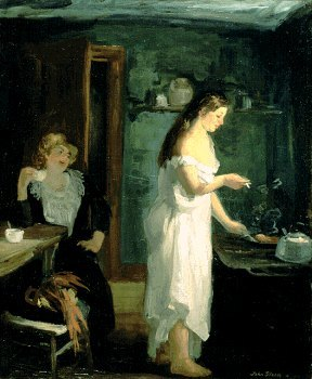 Three AM, 1909, John Sloan